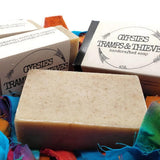 handcrafted patchouli soap cold pressed all natural bohemian scent bath product