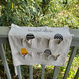 handmade canvas egg collection apron backyard chicken keepers farm gifts  washable