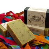 peppermint handcrafted cold press soap gypsy shoals farm