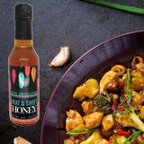 cooking oriental food with infused pepper honey raw gourmet honey