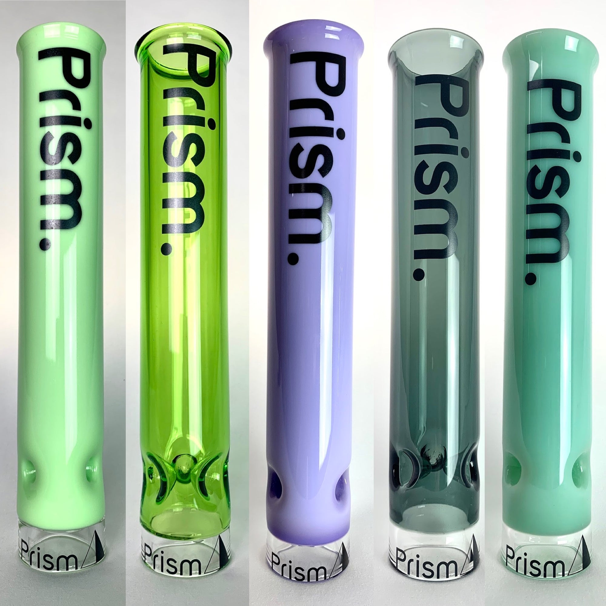 Five New Tall Colored Mouthpieces For Your Custom Bong
