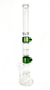 Big Honeycomb Base Big Perc Single Stack With Tall Mouthpiece