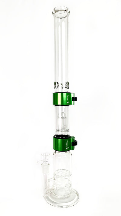 Big Honeycomb Base Single Stack With Tall Mouthpiece