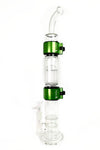 Honeycomb Base Big Perc Single Stack With Bent Mouthpiece