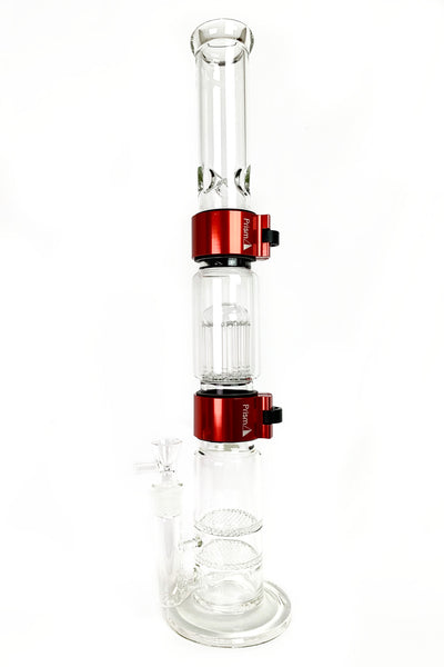 Custom Bongs Done Right. Prism addresses the issues of traditional waterpipes making custom bongs possible. With a variety of bong styles you can create your own custom bong whether its a tall bong or small bong. A custom bong makes it easy to have a clean bong and travel bong. Build a new custom bong as the best bong.