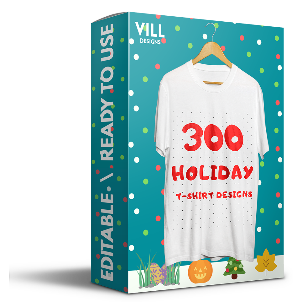 Holidays Bundle - 300 Designs