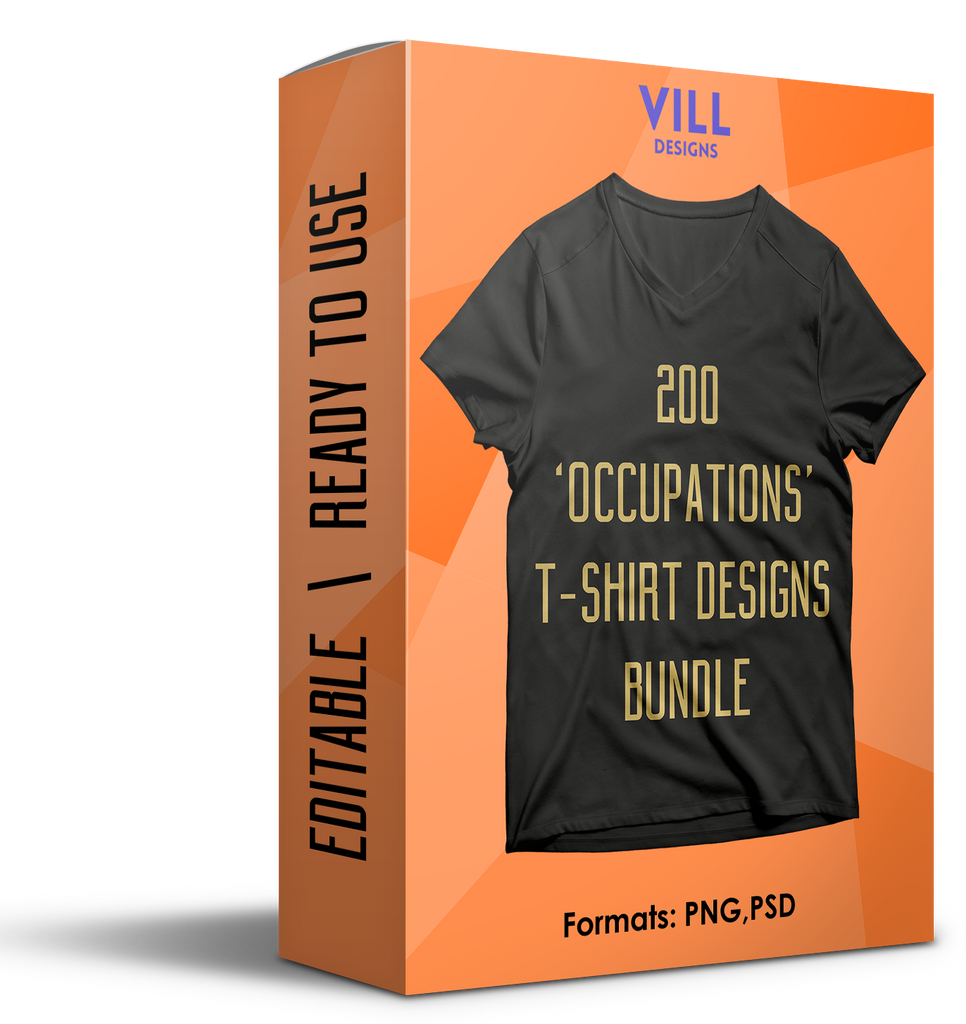 OCCUPATIONS BUNDLE - 200 DESIGNS