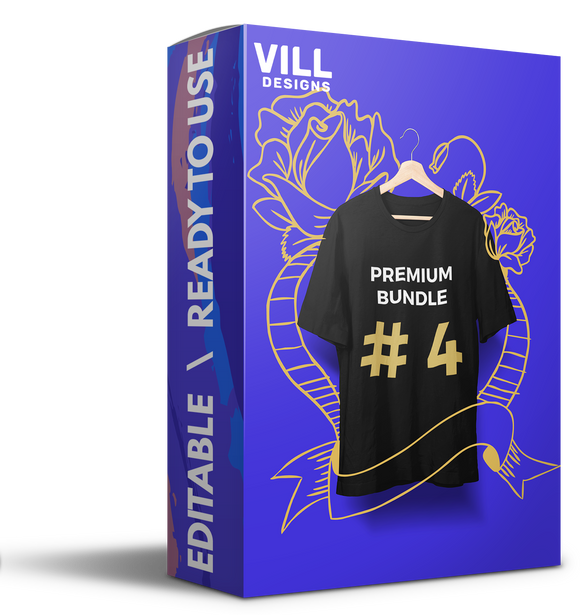 Premium Bundle Part 4 - 300 Designs