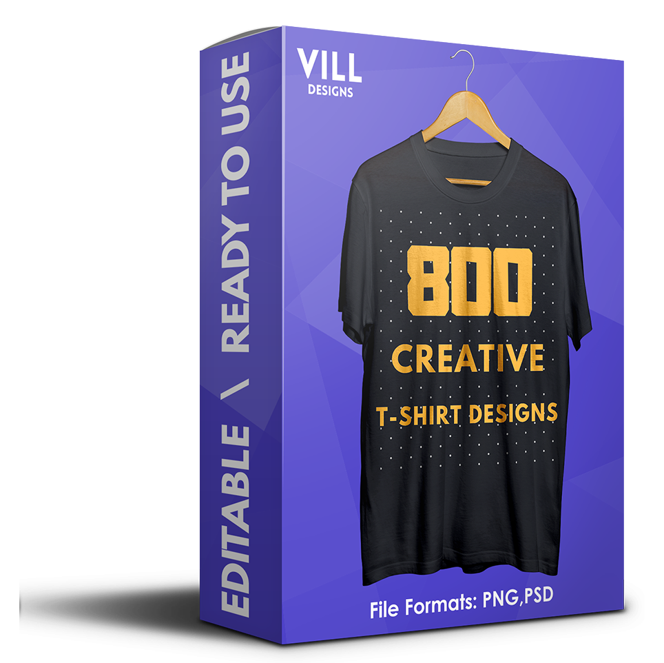 800 CREATIVE T-SHIRT DESIGNS