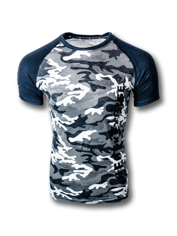 Lomeee.®Vintage Camo T-Shirt