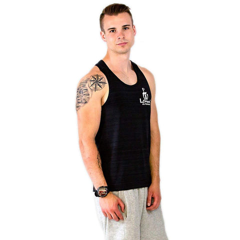 Lomeee.® Fit Tank Top One Black