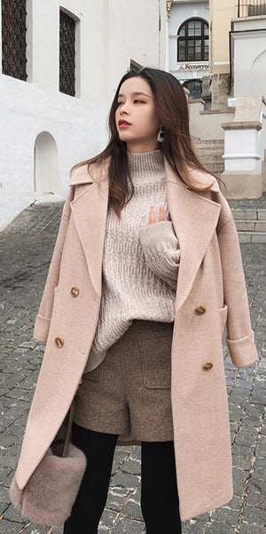 7 Long Woolen Coats Ideas for this Autumn and Winter