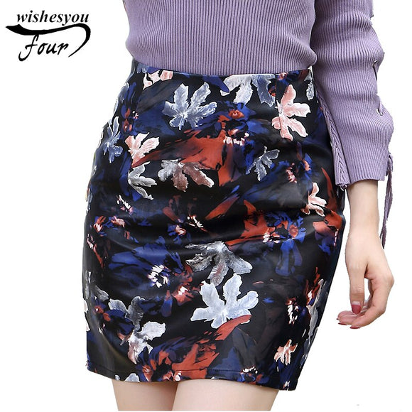 Office 30 Pencil Women Elegant Skirt