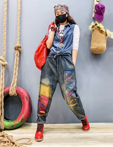Loose Colorful Luxury Punk