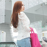 Lace Sleeves Blazer