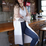 Autumn Size Sweater Knit Cardigans