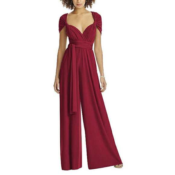 Long Wear Robe Jumpsuit Femme Jumpsuit