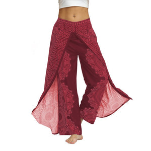 Baggy Boho Pantalones Loose Pants