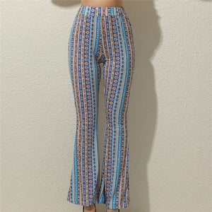 High Soft Bell Lady Pants