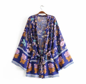 Beach LongSleeve Robe Short Cardigan