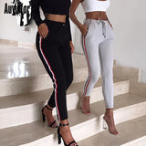 Pants Solid Length Sporty
