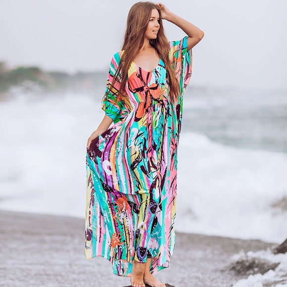 Up Beachwear Bathing Dress