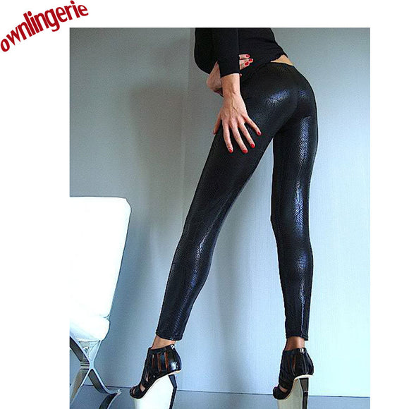 Sexy Wholesale Leather Leggings