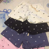 Cotton Cat Drawstring Shorts