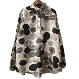 Cotton Print Long Shirt