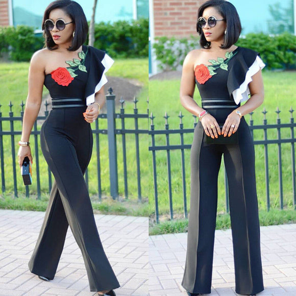 Party Clubwear Playsuits Jumpsuit
