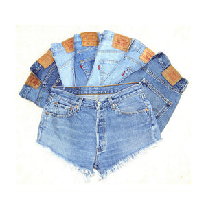 Short Skinny Waisted High