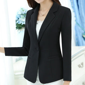 Slim Elegant Office Blazer