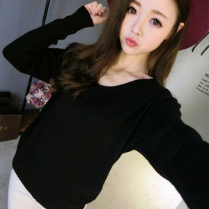 Knit Bottoming V-neck Free Winter