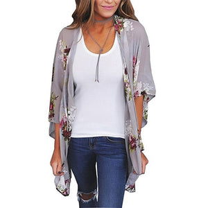 Chiffon Cover Up Cardigan