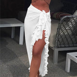 Beach Maxi Long Clothes Holiday Skirt
