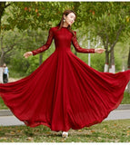 Elegant Red Wine Vestidos Party Dress