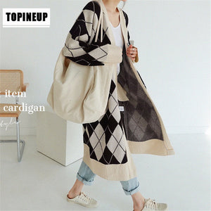 Cardigan Coats Sweater Korea