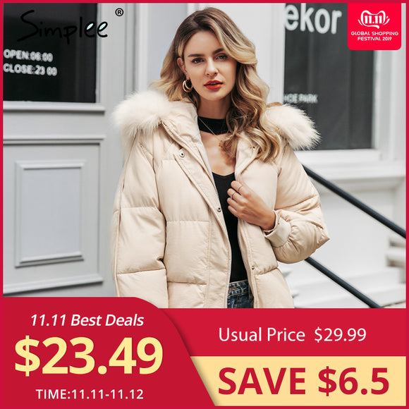 Winter Collar Ladies Sleeve Hooded