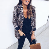 Leopard Long Sleeve Jacket