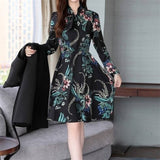 Pieces Women Ladies Sets Autumn Dress