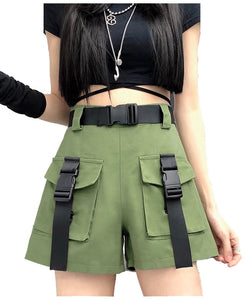 Cargo Ribbon Color Shorts
