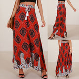 Long Bodycon Beach Skirt
