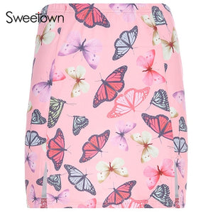 Korean Style Butterfly Skirt