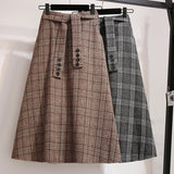 Waist Plus S~4xl Skirt