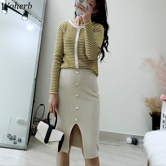 Lady Pencil Office Skirt