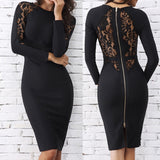 D10 Split Puff Transparent Dress