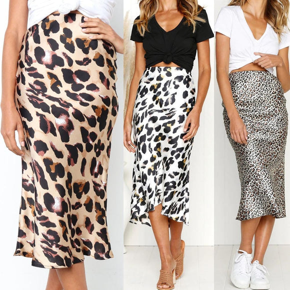 Evening Skater Casual Elegant Maxi Skirt