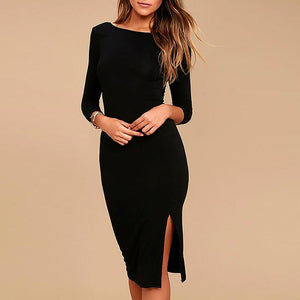 Side Long Elegant Dress