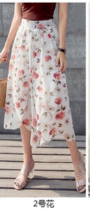 Trousers High Boho Korean Pants