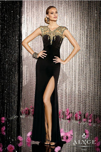 Party Crystal Long Dress